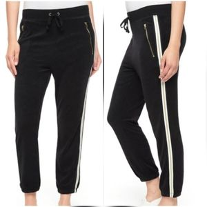 JUICY COUTURE Black Label Microterry Joggers